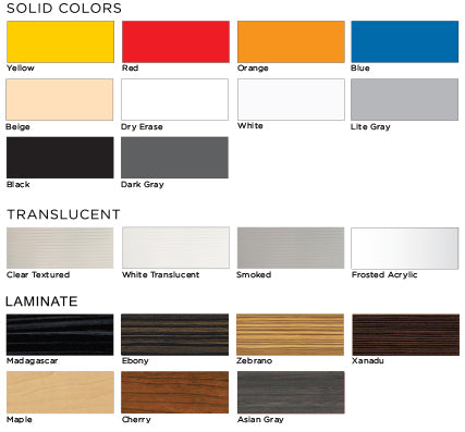 Office Furniture Heaven - FrameWall Colors