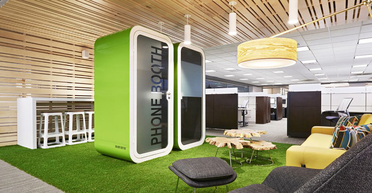 Office Phone Booth by Framery