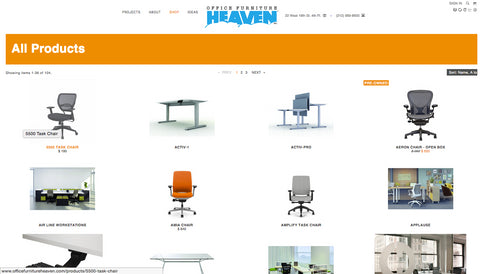 Welcome To The New Office Furniture Heaven