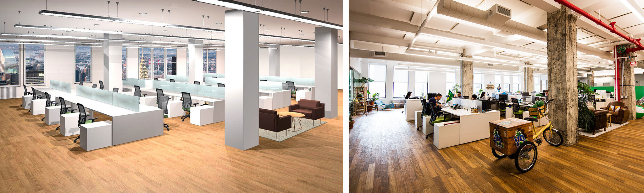OFH 3D Rendering of Vita Coco's Office + the Furnished Office