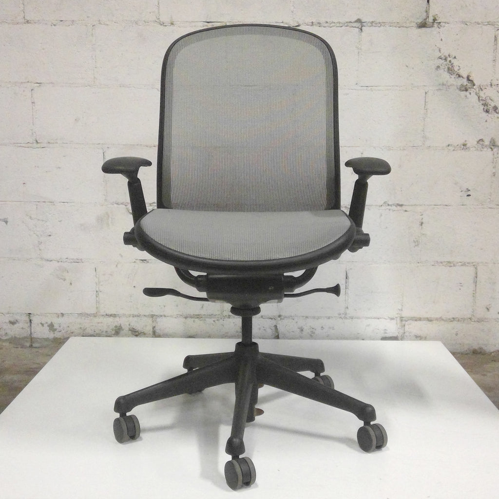 Sale Knoll Chadwick Grey Mesh Chair #1121 - Office Furniture Heaven