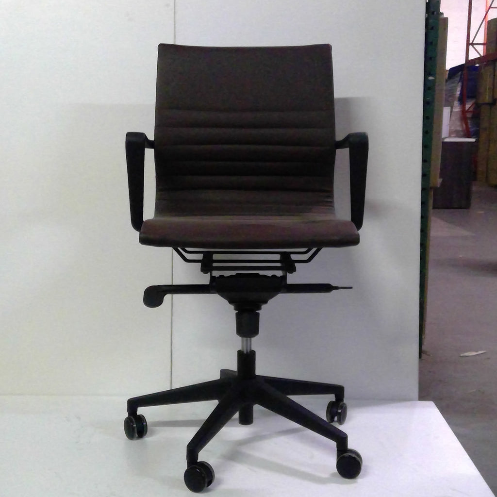 Sale Wobi Bradley High Cylinder Chair (Brown Vinyl) #1505 - Office Furniture Heaven
