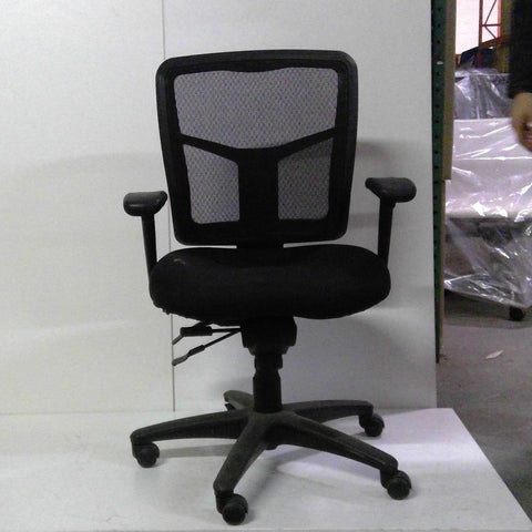 Sale Apollo Chair (Black Mesh) #1526 - Office Furniture Heaven
