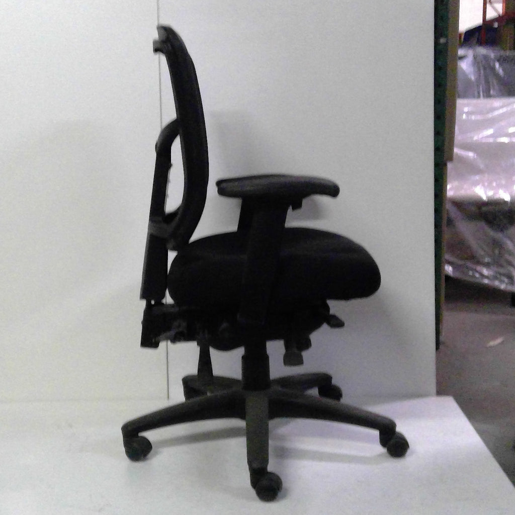 Sale Apollo Chair (Black Mesh) #1527 - Office Furniture Heaven