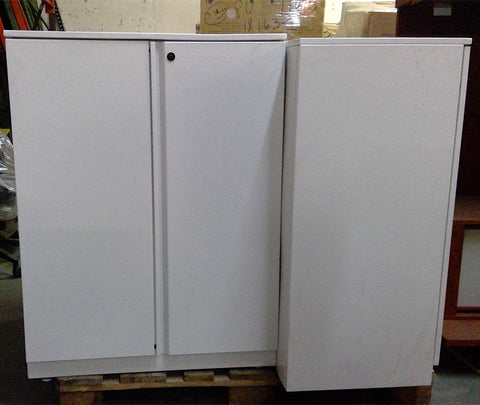 "Sale Hinged Door Cabinets 30""W 18""D 39.5""H #2002-2004 - Office Furniture Heaven"