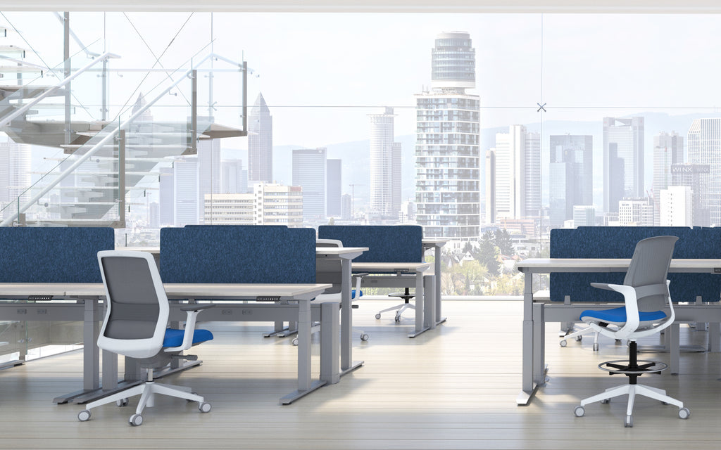 Wall 3H Privacy Screens - Office Furniture Heaven