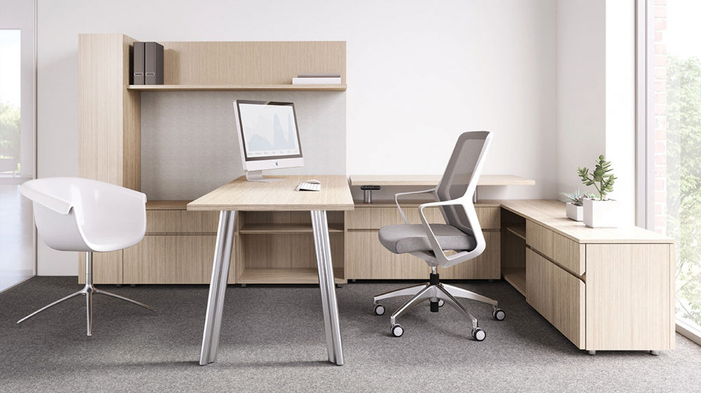 Desks Aptos Private Office - Office Furniture Heaven