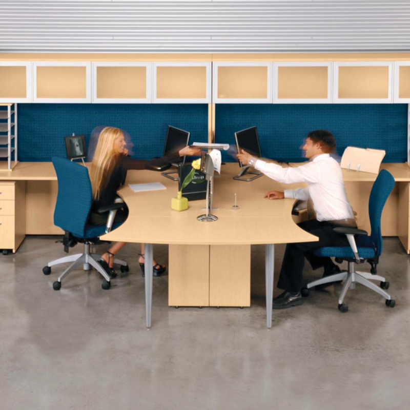 Beautiful Systems Classique Shared Space   Office Furniture Heaven