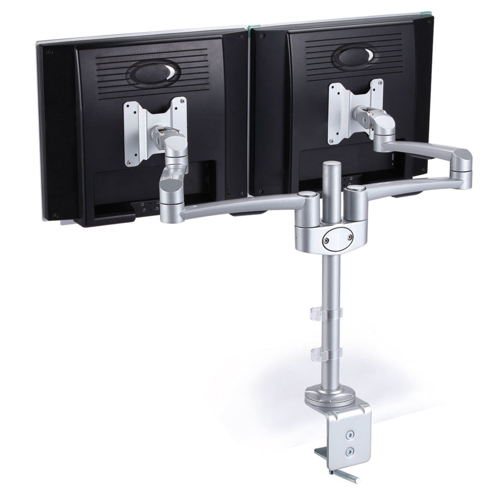 Ergonomic Accessories Dual Monitor Arm - Office Furniture Heaven