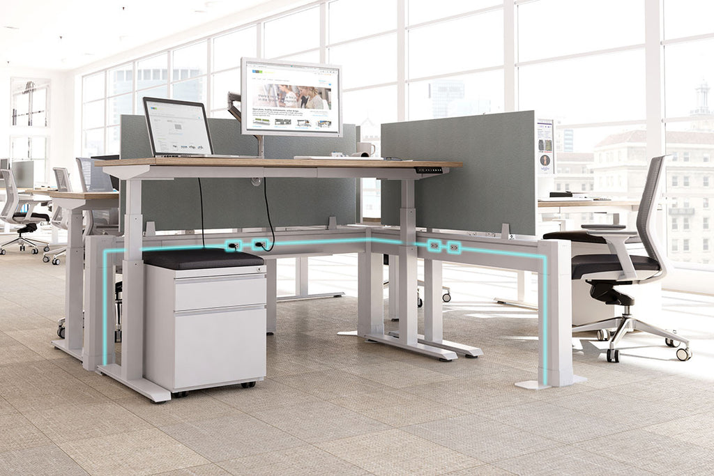 Ergonomic Accessories ILINE Power/Data Beam - Office Furniture Heaven