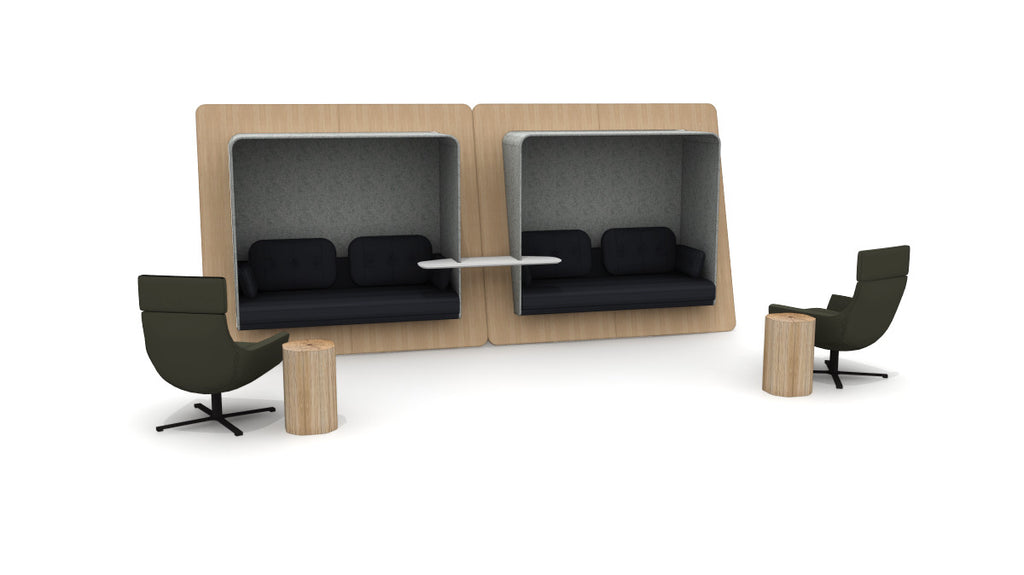 Lounge Seating LeanTo - Office Furniture Heaven