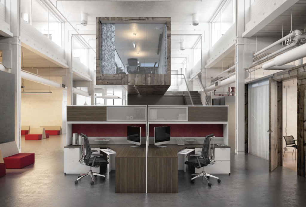 Desks Zen Open Office - Office Furniture Heaven