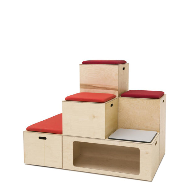 Lounge Seating Collaboration Bleachers - Office Furniture Heaven