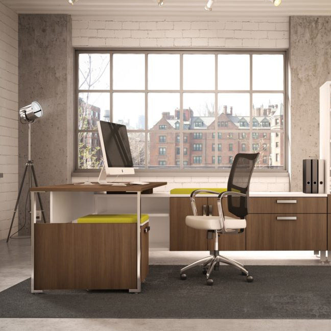 Desks Level Private Office - Office Furniture Heaven