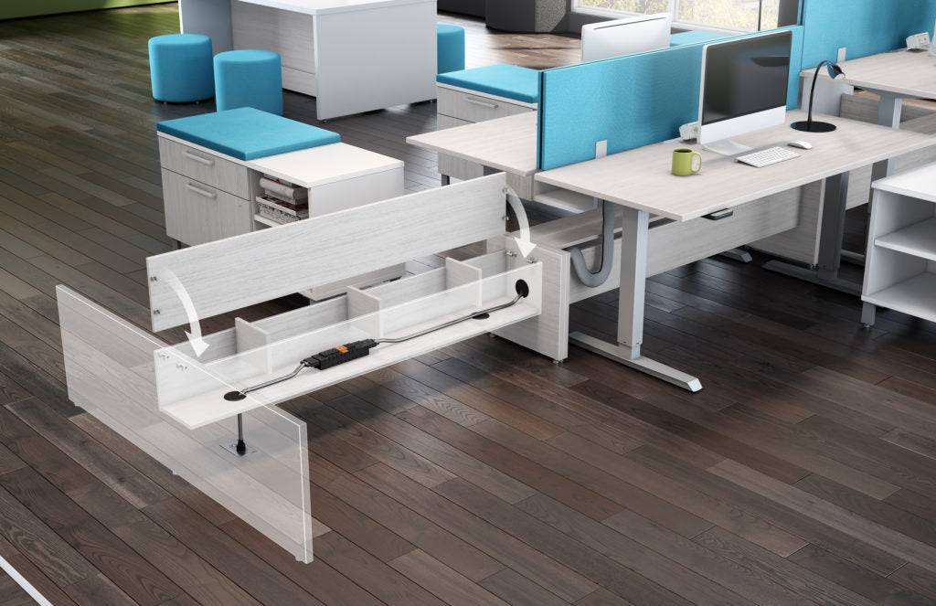 Systems Elevation Open Space - Office Furniture Heaven