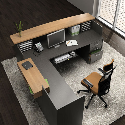 Desks Zira Reception - Office Furniture Heaven
