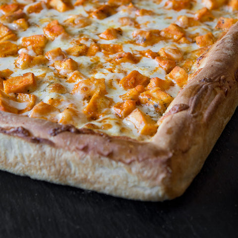 Buffalo Chicken Pizzas from Giuseppe's Pizza in Cleveland