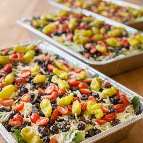 Party Size Salads - Cleveland Catering at Giuseppe's Pizza