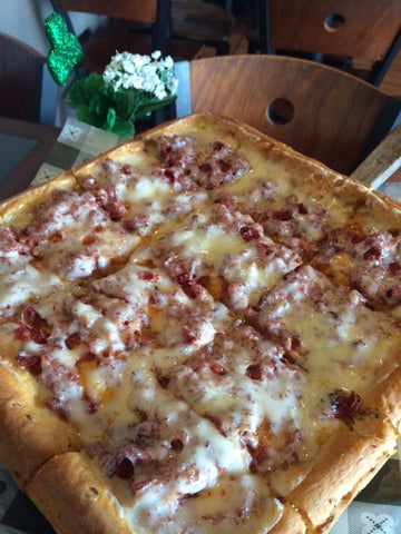 Corned Beef Pizza
