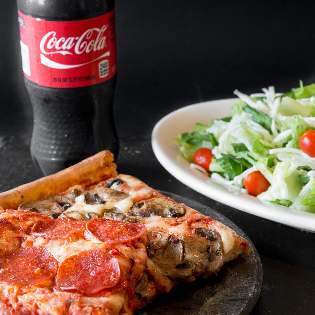 Pizza Salad Combo At Giuseppes In Cleveland