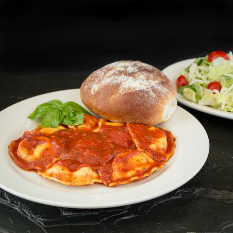 Italian Dinners in Cleveland - Ravioli from Giuseppe's Pizza