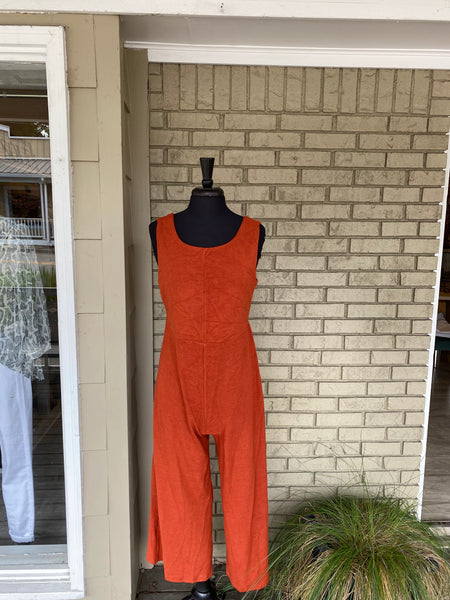 Rust Jumpsuit