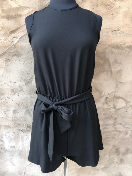 Licorice Romper
