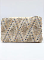 Liz Crossbody Bag Straw Neutral