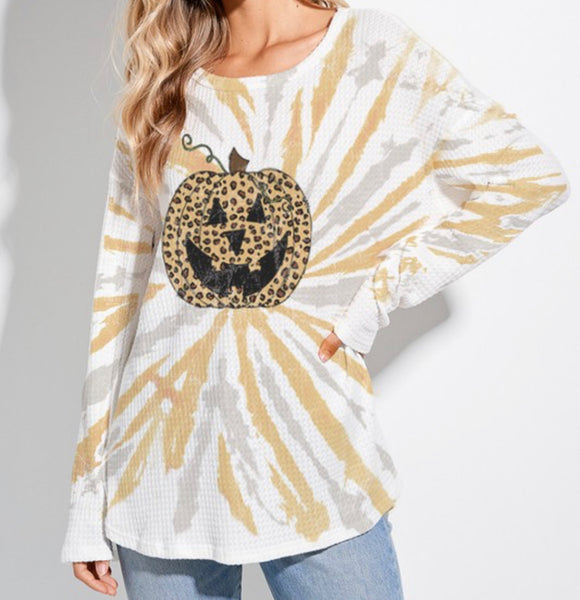Leopard Pumpkin top