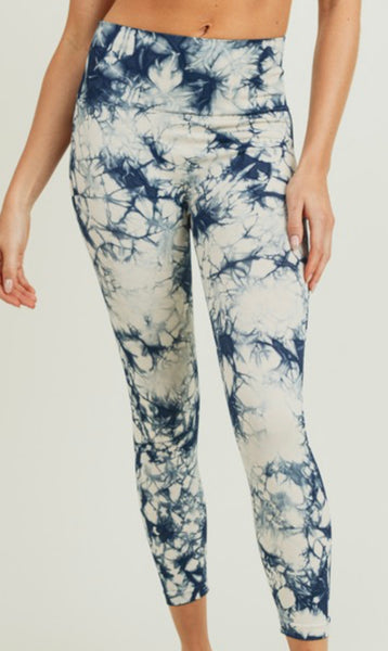 Natural Navy Leggings