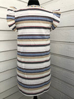 Smocked Blue Stripe