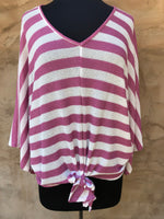Rose Striped Top