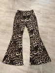 Cheetah Bell bottoms