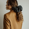 Silk Scrunchie in Caramel