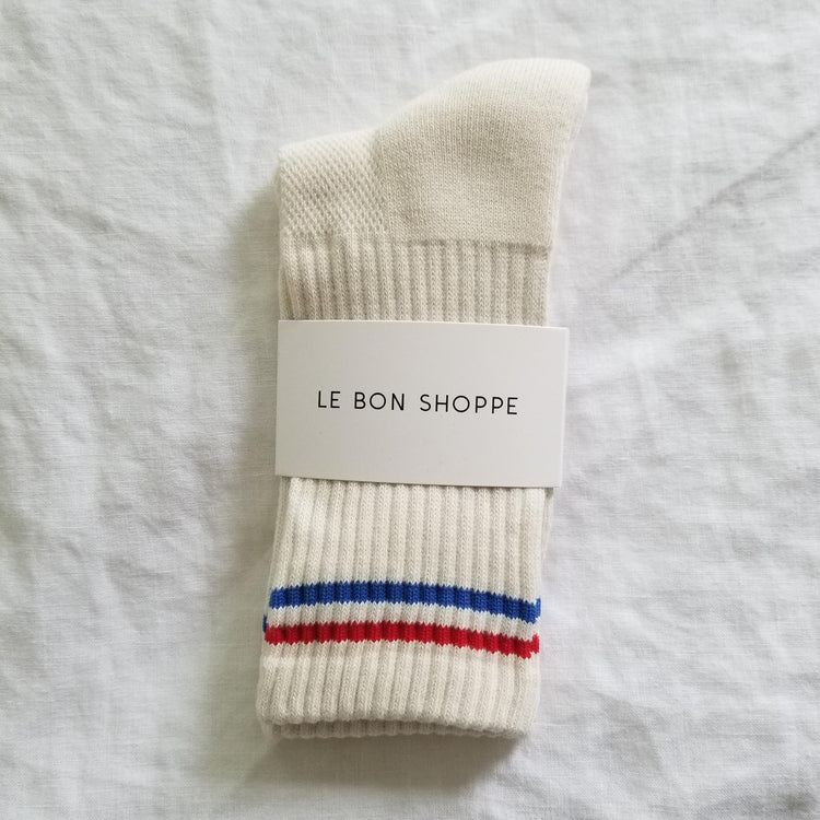 Boyfriend Socks By Le Bon Shoppe