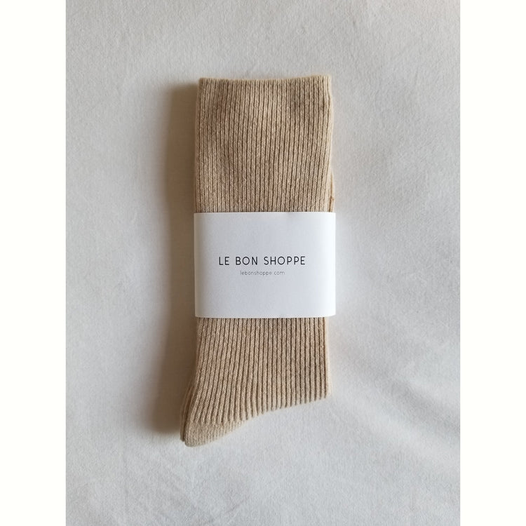 Grandpa Socks In Oyster By Le Bon Shoppe