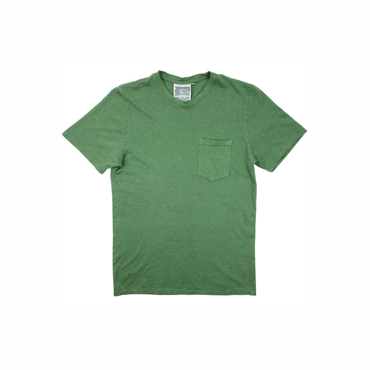 Baja Pocket Tee in Spruce Green  By Jungmaven