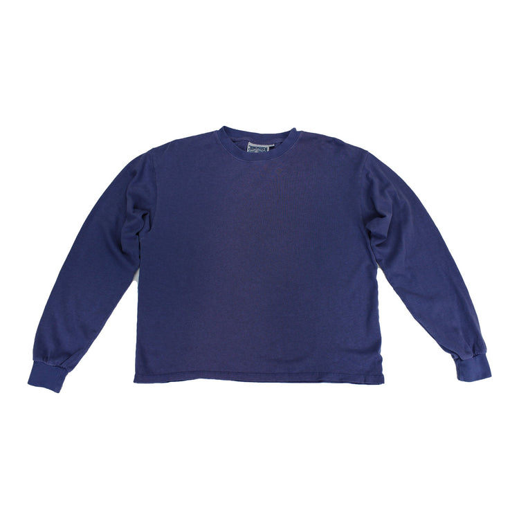 Cropped Long Sleeve in Navy By Jungmaven