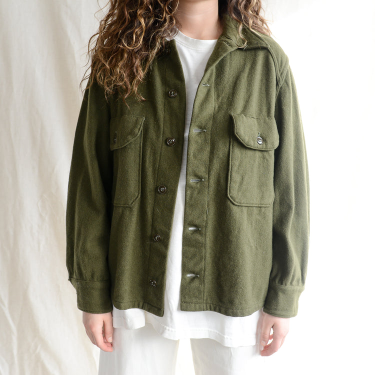 Vintage Wool Army Jacket M
