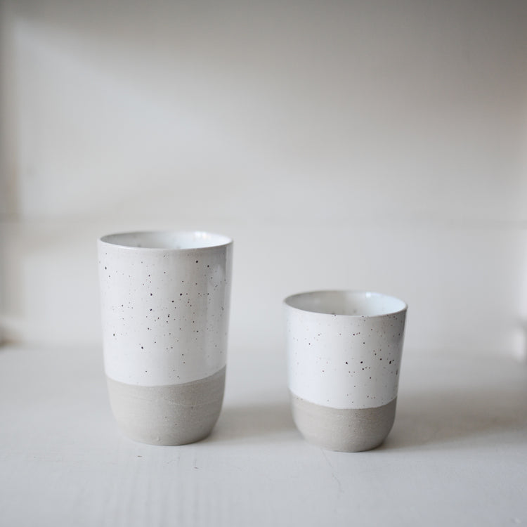 Tav Ceramic Tumbler In Grey