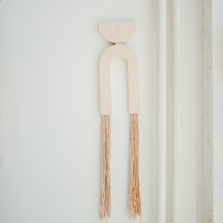 Large Maple Fringe Wall Hanging By Karcass