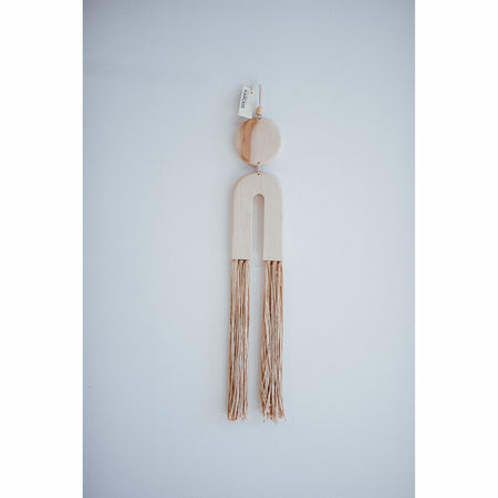 Maple Fringe Wall Hanging By Karcass