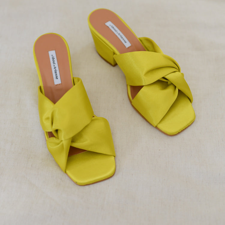 Claude Sandals in Citrus By About Arianne
