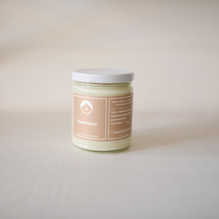 Cave Glow Tree House Candle