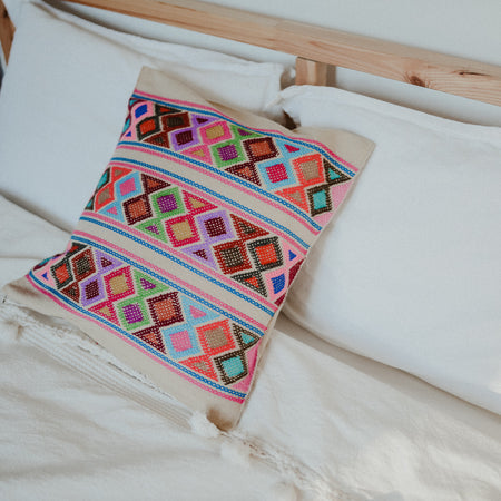 Hand Embroidered Pillowcase