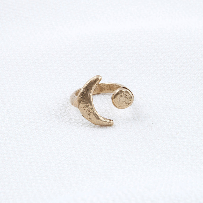Eclipse Ring Bronze By Hawkly