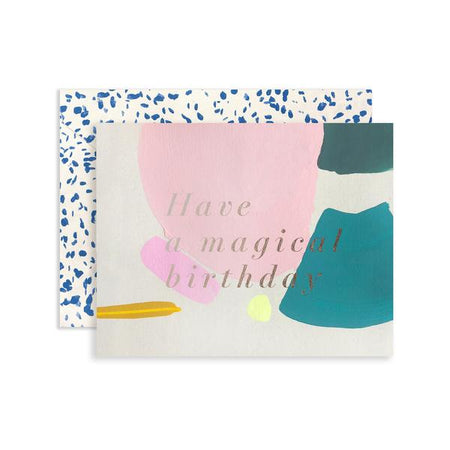 Magical Birthday Card By Moglea