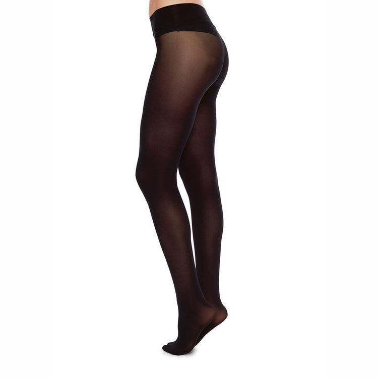 HANNA PREMIUM SEAMLESS TIGHTS BLACK  by Swedish Stockings