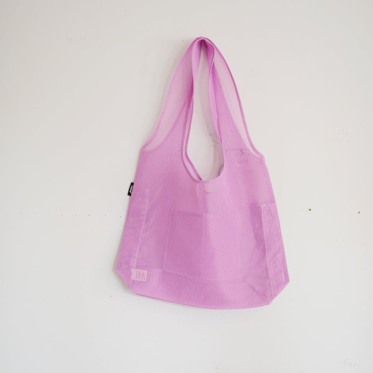 Junes Everyday Tote Bag With Bottle Pocket in Lavender