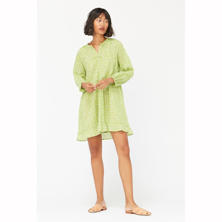 Keyla Dress in Kiwi By  LACAUSA